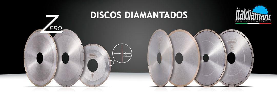 Discos diamantados